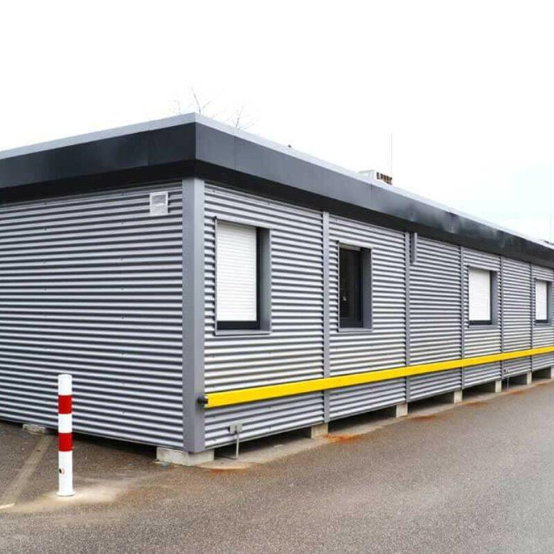 Bürogebäude aus Containern