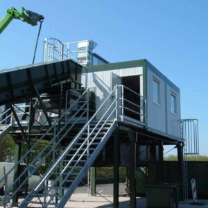 Industriecontainer, Schaltanlagencontainer