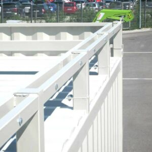 Container für Schaltanlagen, Batteriecontainer