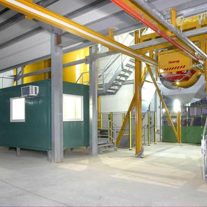 Technikcontainer, Schaltanlagencontainer