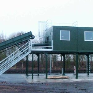 Technikcontainer, Container Kompressor