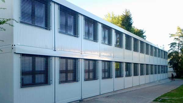 Container-Modulbau: Schulcontainer und Schulräume