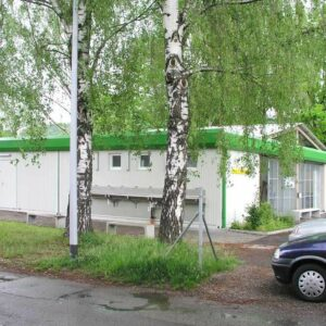 Vereinsräume und Sanitärcontainer