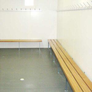 Umkleidekabinen und Sanitärcontainer für Vereinsheime