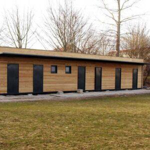 Container-Modulbau für Vereinsheime