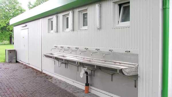 Container-Modulbau: Sanitärcontainer