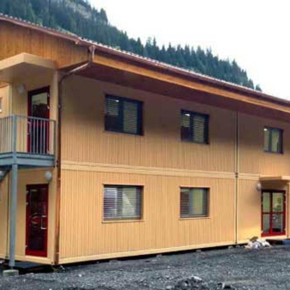 Containerhaus für Saisonarbeiter