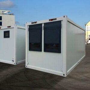 Bürocontainer mit PU-Isolierung