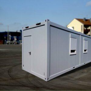 Standard-Bürocontainer mit Rollläden