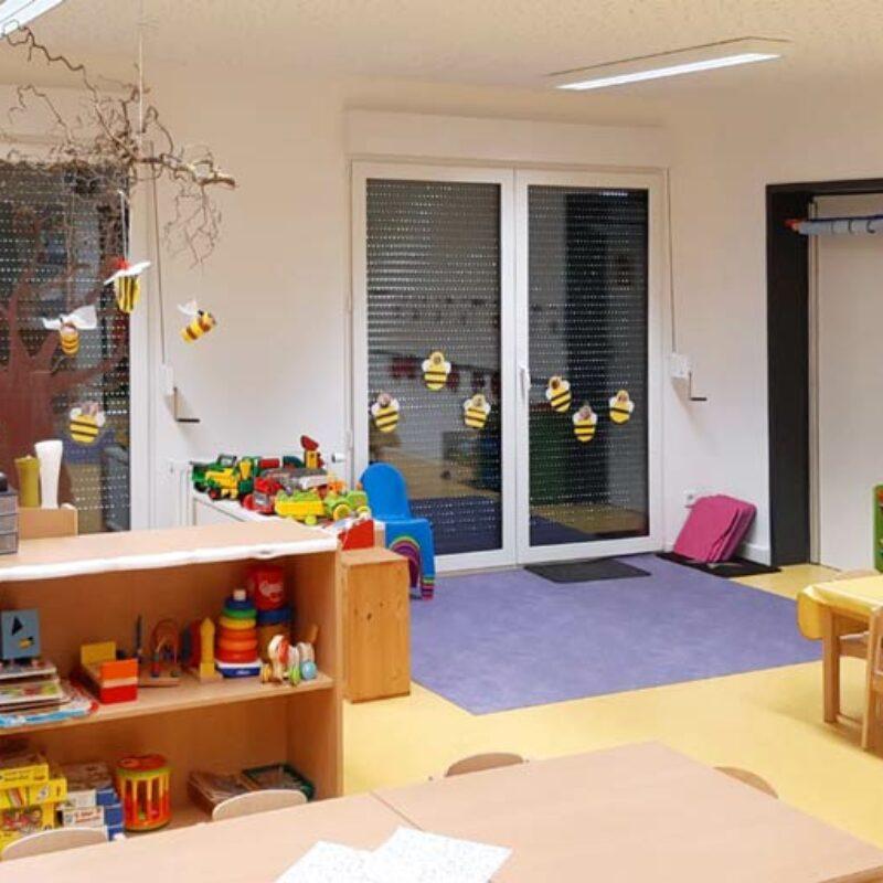 Kindergartencontainer Gruppenraum