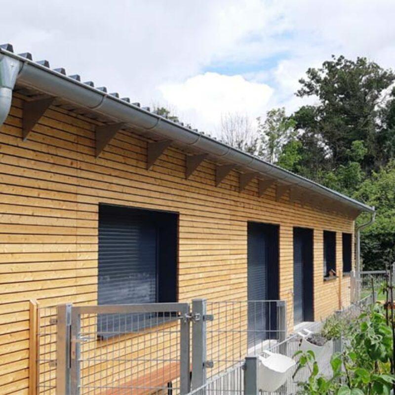 Modularer Kindergarten Außenanlage